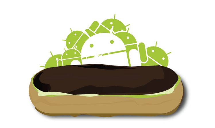 Android 2.0.1 and Android 2.1 Eclair