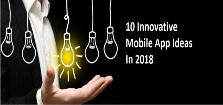 Best Innovative App Ideas 2018