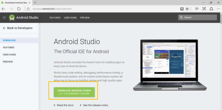 How to install Android Studio emulator on PC