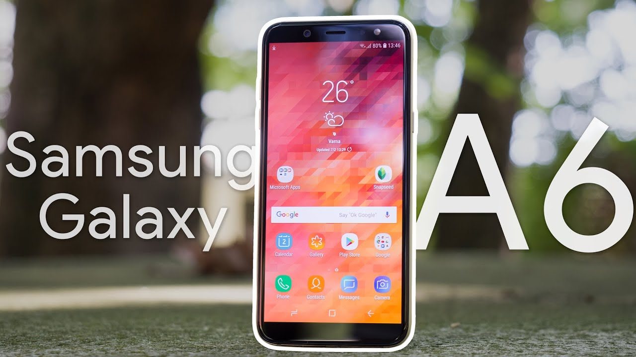 Samsung Galaxy A6 Review