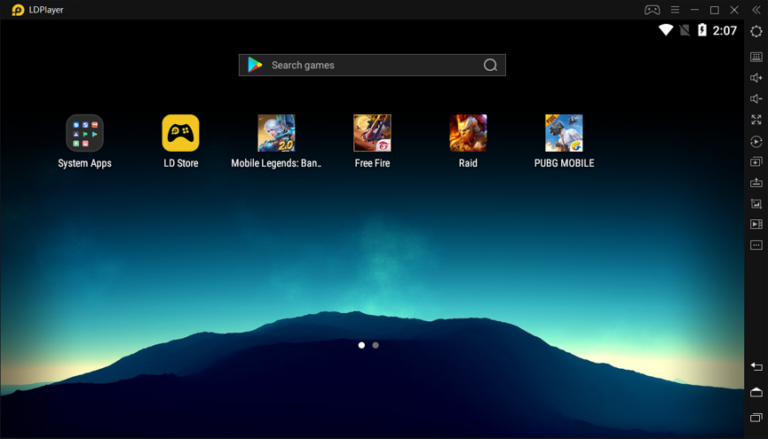 Android emulator for PC: LD Player